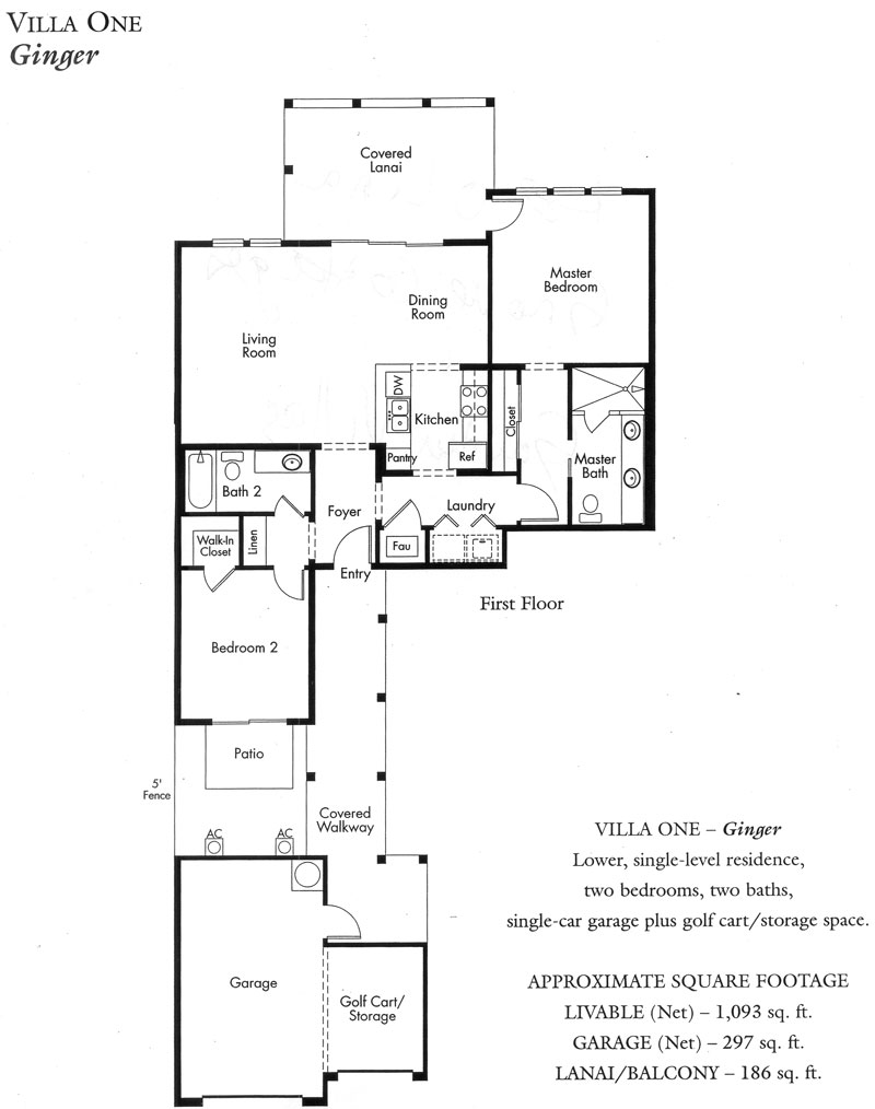 """Ginger"" Villa plan"