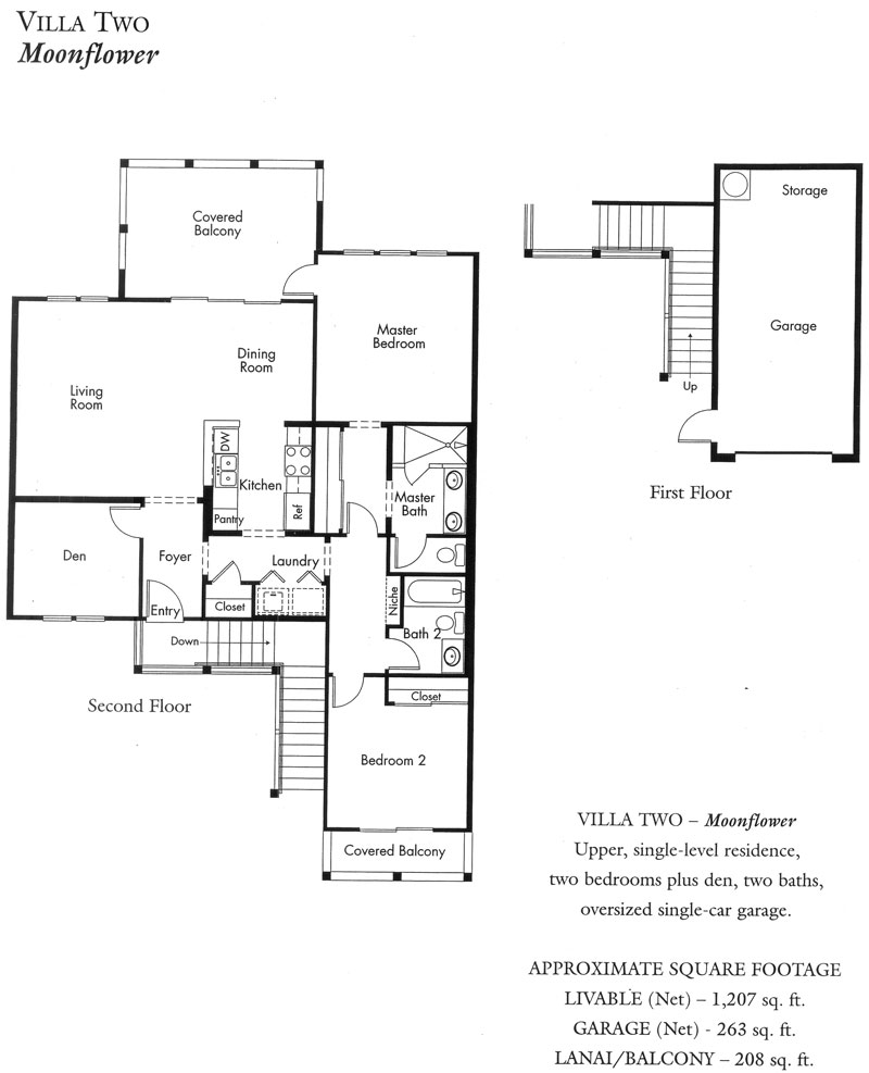 """Moonflower"" Villa plan"
