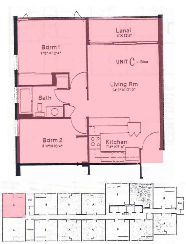 bedrooms 2 baths 1 square feet 666 sf lanai 50 sf qty 64 comments another extraordinary methods with 2 bedroom suites in waikiki 2