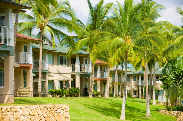 Kai Lani homes offer a luxurious and tropical experience with some select units facing the ocean.