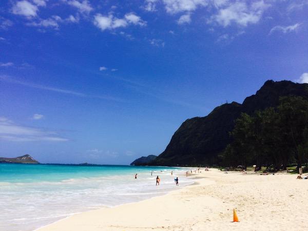 waimanalo beach hawaii