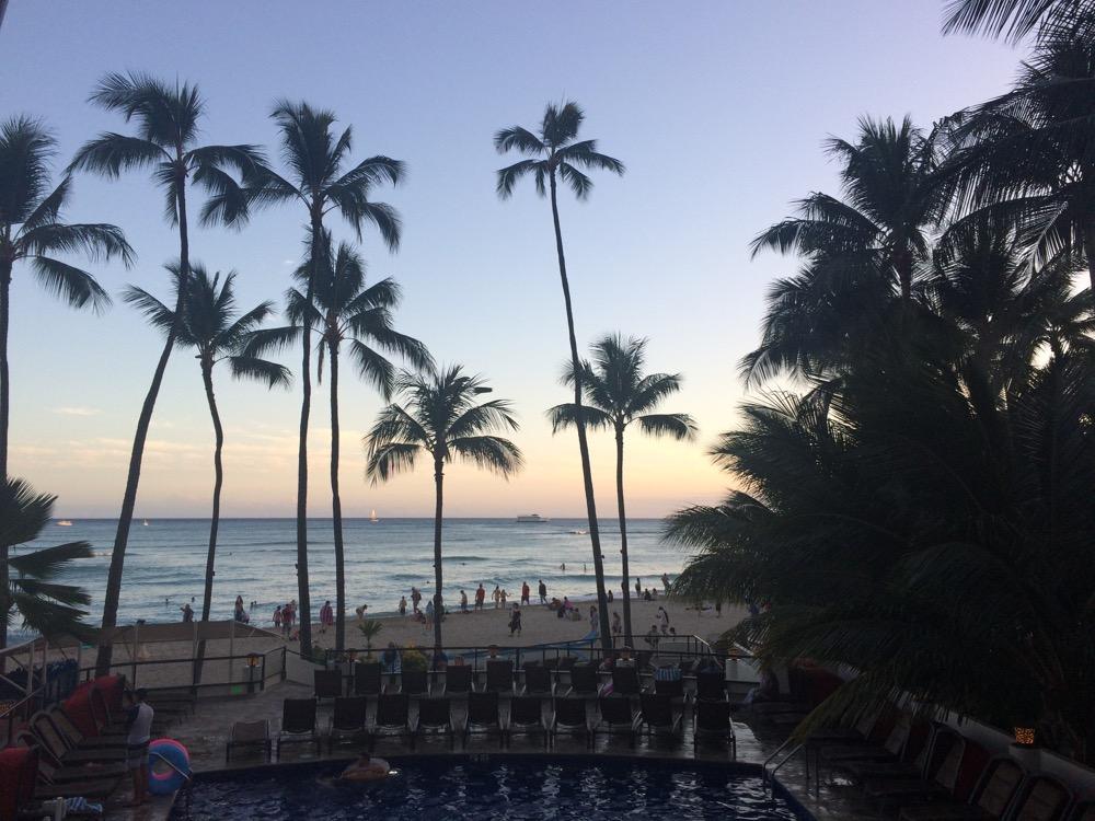 hawaii waikiki restaurant beach